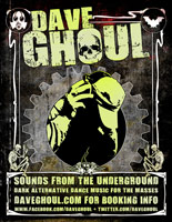 Dave Ghoul Flyer