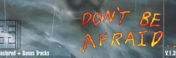 Information Society - Don't Be Afraid v.1.3, Booklet Cover