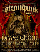 Nat. Haunters Convention Steampunk Ball Flyer