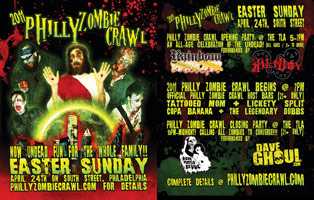 Philly Zombie Crawl Flyer