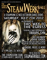 SteamWerk Ball, 2012 Flyer