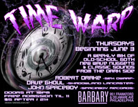 Time Warp Flyer